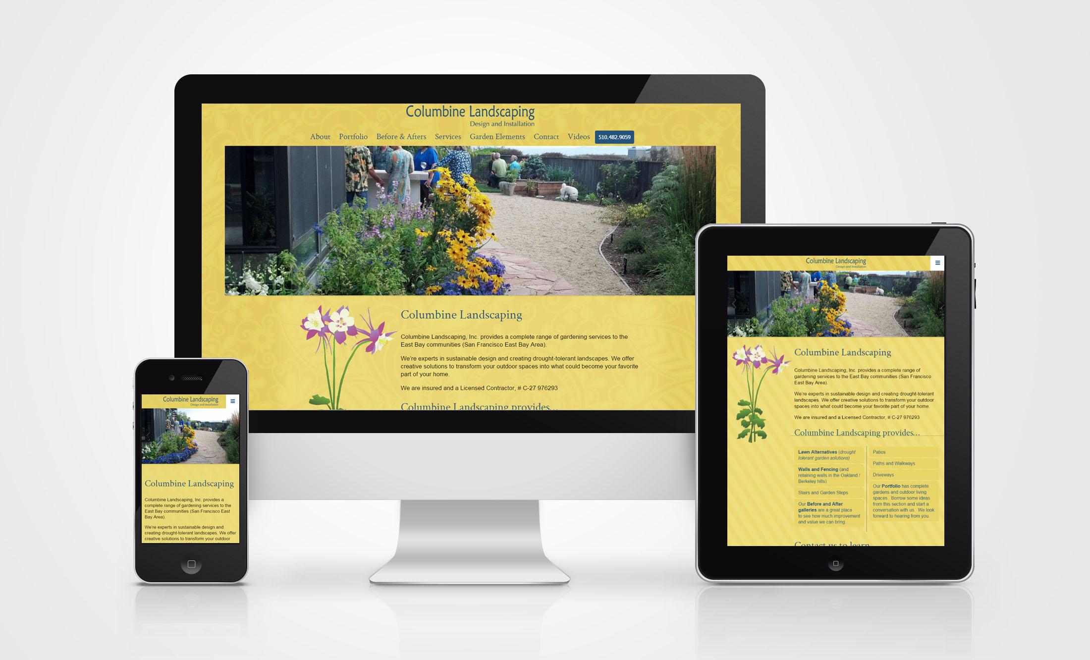 Landscape Design Contractor Websites Ecarbonated Branding